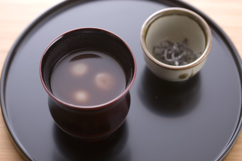 Oshiruko (winter season only)